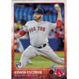 Bv Edwin Escobar Rc Boston Red Sox Topps 2015 #77