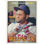 Cl27 2016 Topps Heritage Pablo Sandoval #409 Red Sox