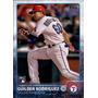 Bv Guilder Rodriguez Rc Texas Rangers Topps 2015 #103