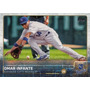 Cl27 2015 Topps Series 2 #419 Omar Infante Royals