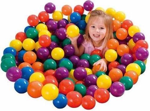 pelotitas de pelotero pelota x100 plástico virgen brillantes