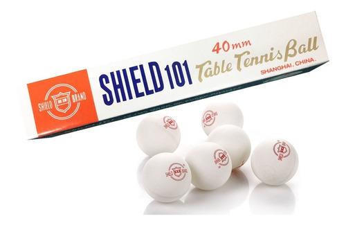 pelotitas pelota ping pong x6 shield 101 new cod 400 bigshop