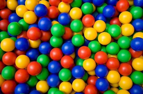 pelotitas pelotas pelotero x50 no toxicas no se abollan