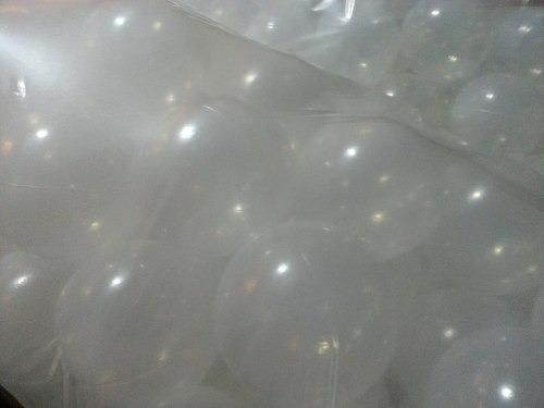 pelotitas transparentes para pelotero x 200 unidades