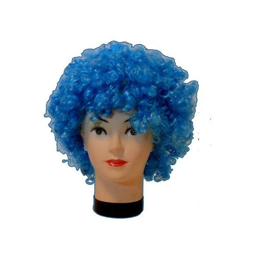 peluca afro celeste uruguay