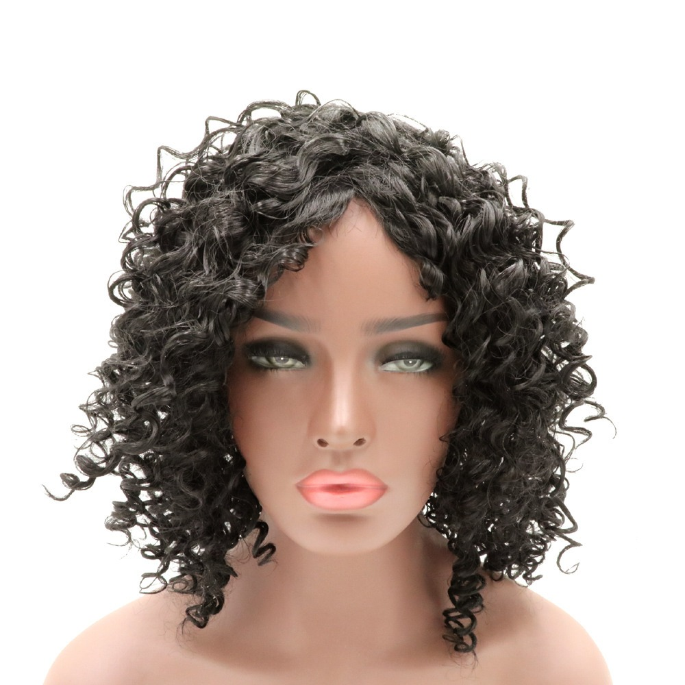 Imagen de cabello corto chino