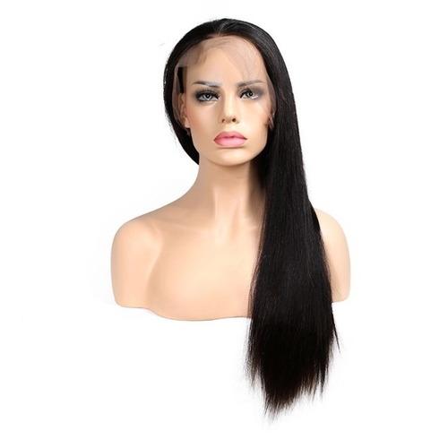 peluca cabello natural humano 20 pulg. con babyhair.