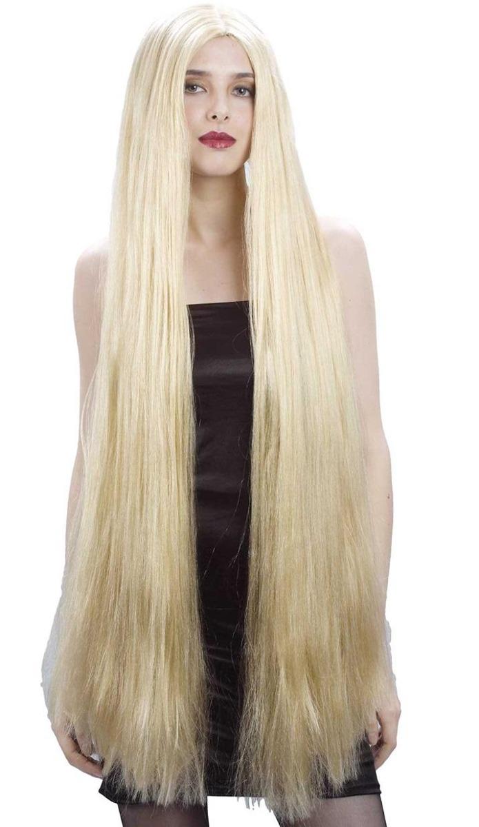 Diversión y halagos peinados pelo largo liso Imagen de tutoriales de color de pelo - Pelo largo liso y rubio - Peinados populares 2019