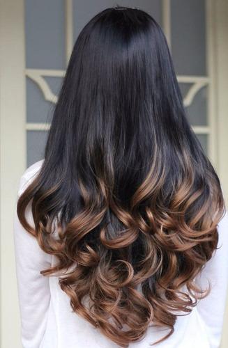peluca californiana en  rubio y rojo apariencia muy natural