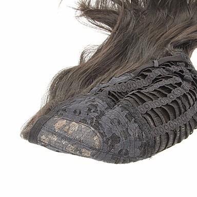 peluca corta carré largo con rulos grandes simil natural