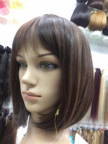peluca corta quimioterapia  planchable  bogotá extensiones