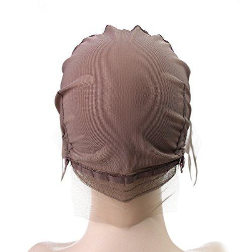 peluca de encaje gorra con libre combs swiss