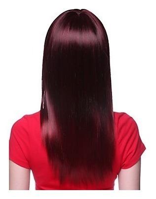 peluca extra lacio colorado uva morado vino simil natural