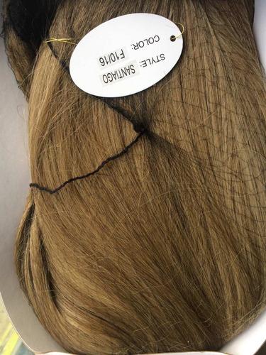 peluca hermosa quimioterapia  planchable  bogotá extensiones