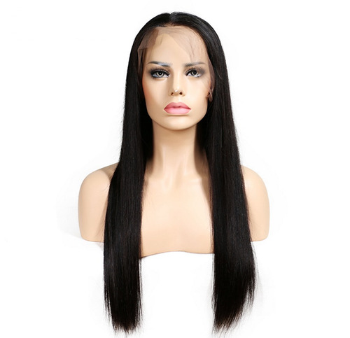 peluca indetectable lacefront larga cabello humano natural