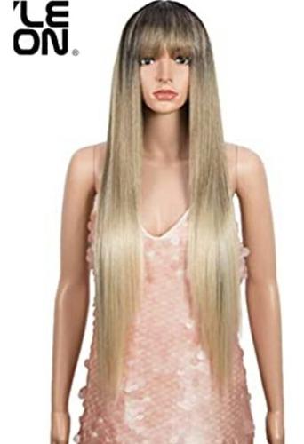 peluca rubia, estilo ombre 32 829-494-7430