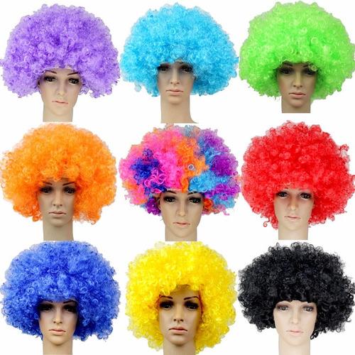 pelucas afro cotillon luminoso carioca fiesta cumple!!