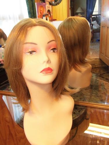 pelucas de cabello humano promoción