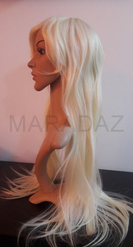 pelucas largas opacas 75cm lacio térmicas 6 tonos simil