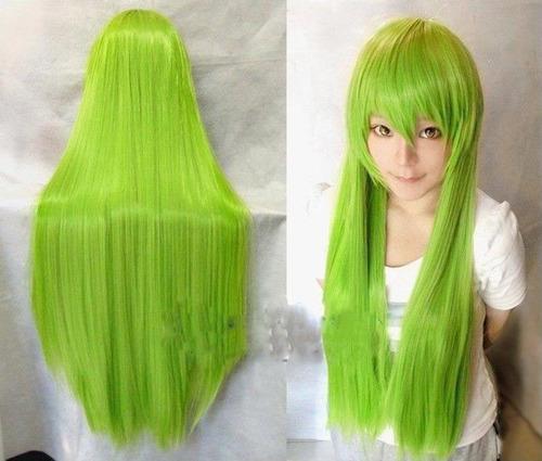 pelucas para cosplay 80cm + malla para el pelo