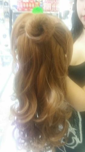 pelucas princesas bella, elsa, ceninienta, rapunzel, adulto