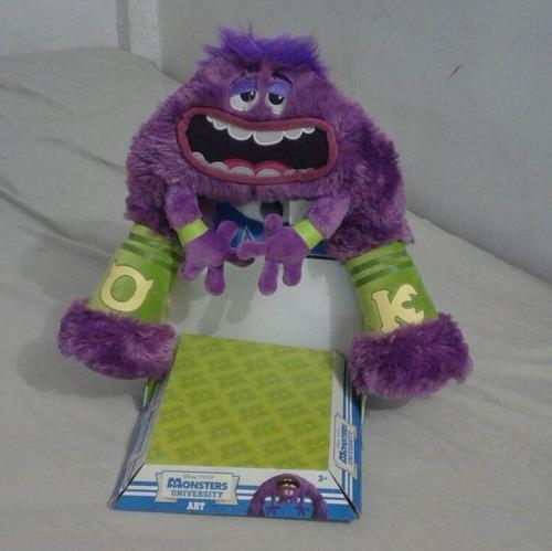 peluche art de monsters university mediano 35 cm negociable