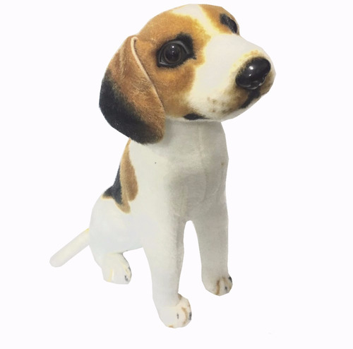 peluche beagle + bolsa de regalo