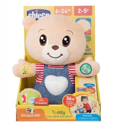 peluche bilingüe   teddy enseña emociones