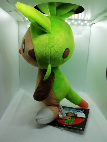 peluche chespin pokemon center