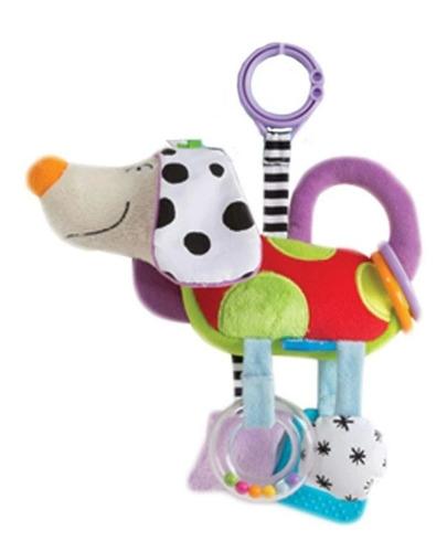 peluche colgante perrito sonajero - taf toys floppy-ears dog