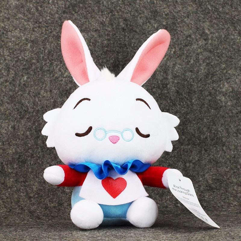 Peluche conejo blanco alicia en el pa s de las maravillas s 40 00 en mercado libre - Conejo de alicia en el pais de las maravillas ...