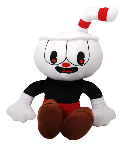 peluche cuphead dont deal with the devil mugman 39cm