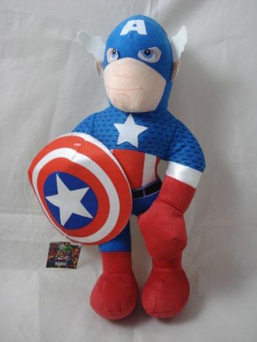 peluche de capitan america super heroe niño juguete