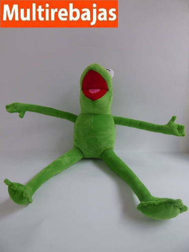 peluche de la pelicula muppet, rana rene 55cm
