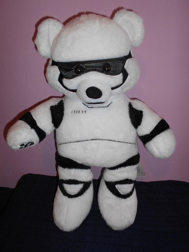 peluche de stormtrooper star wars de build a bear 42 cms