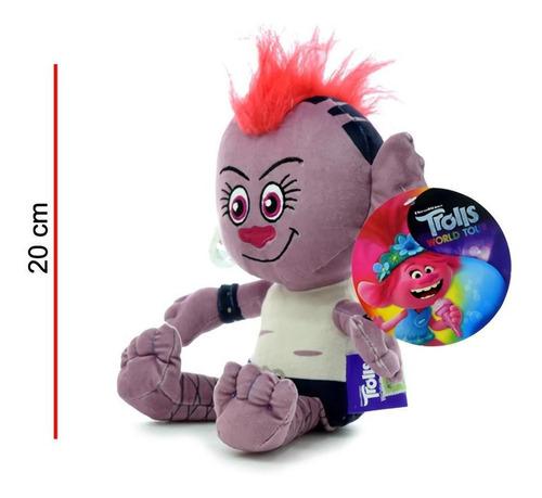 peluche de trolls barb 20cm licencia original phi phi toys