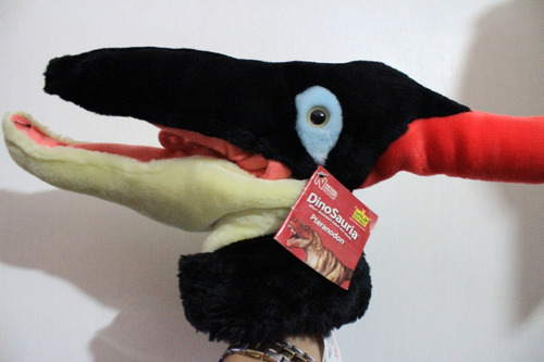 peluche dinosauria pteranodon history museum marioneta