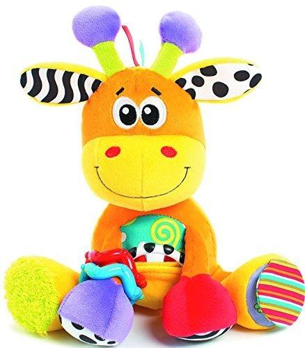 peluche discovery friend mordillo bebé jirafa playgro