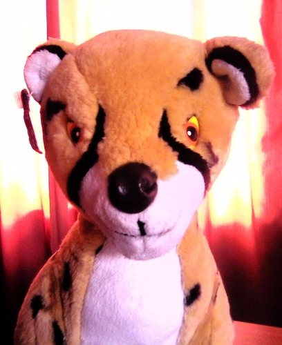 peluche disney cheetah - el rey león - importado