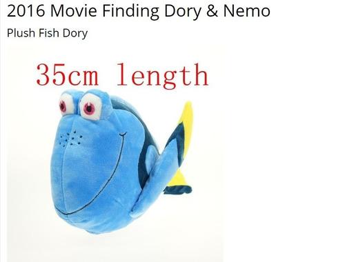 peluche dory 35 cm original
