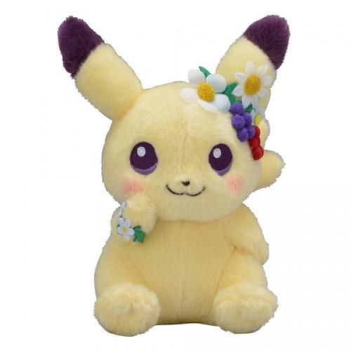 peluche eevee y pikachu easter garden party envio gratis