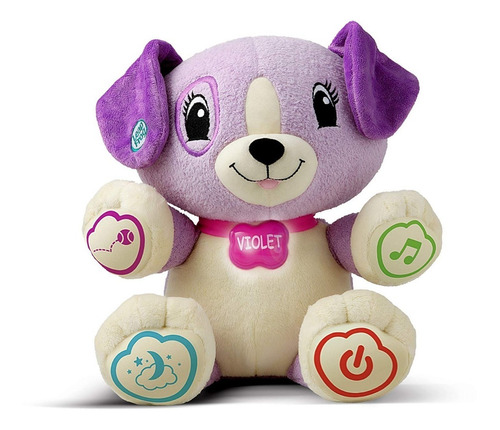 peluche electronico mi amiga violeta preescolar leapfrog