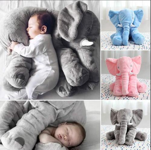 peluche elefante de felpa almohada antialergica kids 60cm