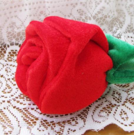 Peluche En Forma De Rosas Flor Varios Colores Bonitas 30 Cm