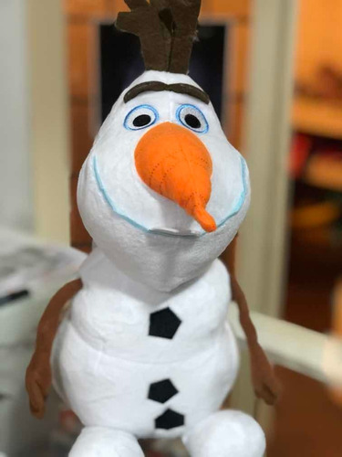 peluche frozen olaf 45cm grande!! hermoso!!