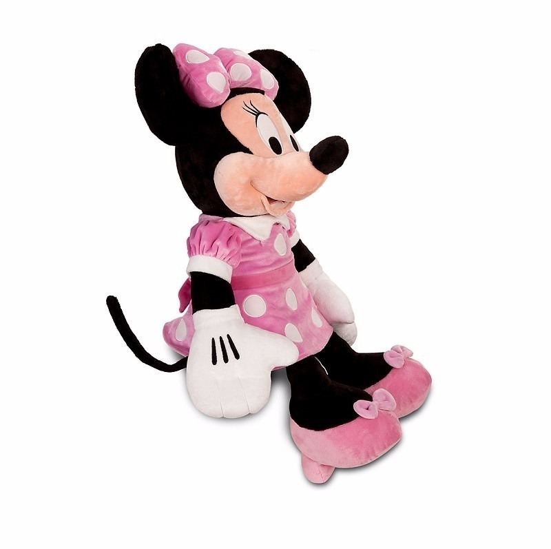 peluche grande minnie mouse gigante importado disney store. Black Bedroom Furniture Sets. Home Design Ideas