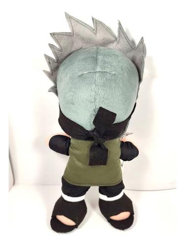 peluche kakashi naruto juguete 38cm sharingan konoha  envío