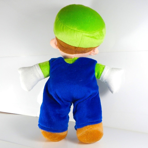 peluche mario bros luigi mansion 30cm super galaxy world kar