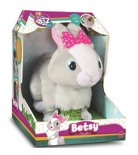 peluche mascota betsy conejita saltarina club petz babymovil