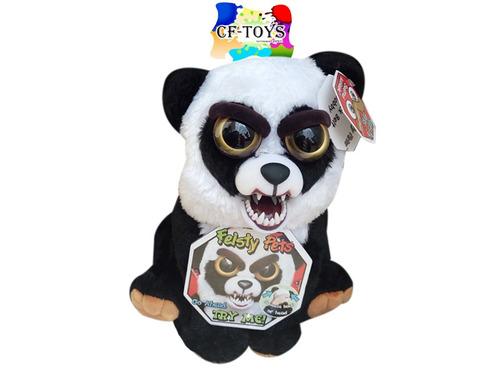 peluche mascota oso panda feisty pets enojon cf